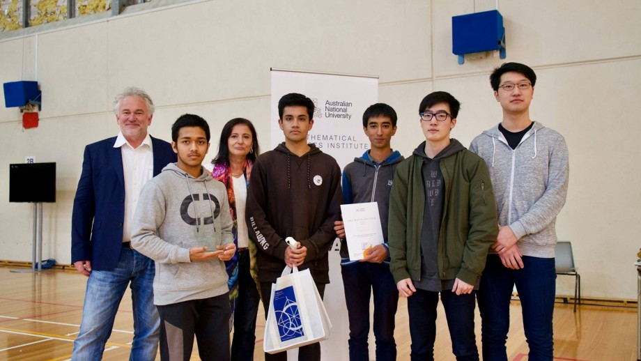 2018 Maths Day Winners Anu Mathematical Sciences Institute